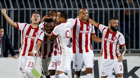 In der letzten Saison schaffte Olympiakos Piräus die Qualifikation für die Champions-League-Qualifikation. (Bild:Srdjan Stevanovic/Getty (Belgrad, 25. Juli 2017))