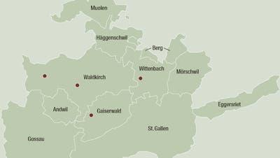Flurnamen in der Region St.Gallen: Wo die Grimmigen zu Hause sind