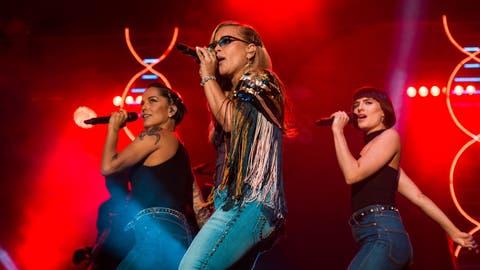 Anastacia aus den USA war für viele Fans die Nummer ein. Bild Florian Stauber (Zofingen, 8. August 2018)