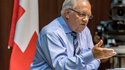 Wirtschaftsminister Schneider-Ammann. (Bild: ky)