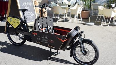 Cargo-Bike statt Auto: Wil lanciert neues Transportmittel