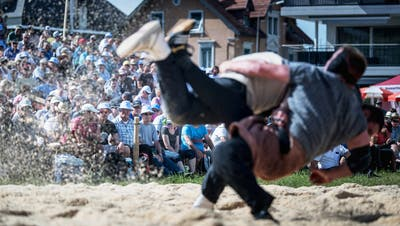 5000 Besucher kamen Ende Mai an das Kantonalschwingfest in Tübach. (Bild: Michel Canonica)
