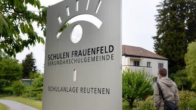Das Oberstufenzentrum Reutenen in Frauenfeld. (Bild: Nana do Carmo)