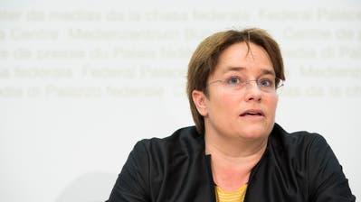 «Die direkte Demokratie wird ausgehebelt»: SVP-Nationalrätin Magdalena Martullo-Blocher. (Bild: Keystone)