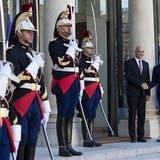 Bundespräsident Berset tauscht sich mit Präsident Macron aus