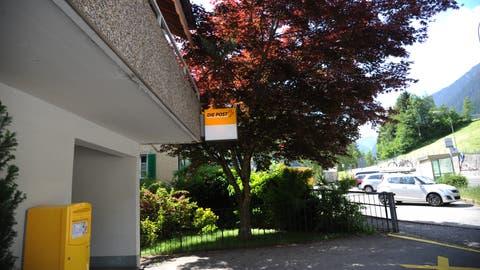 Die Poststelle in Wassen bleibt vorläufig erhalten. (Bild: Urs Hanhart, Wassen, 7. Juni 2018)