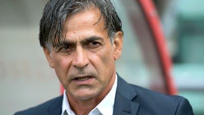 Jacobacci vorerst nicht mehr Trainer in Sion