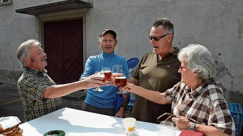 Das Farmhouse Ale läutet in der Fischinger Klosterbrauerei den Herbst ein