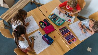 Über die Initiative «Für eine hohe Bildungsqualität im Kanton Luzern» wird am 23. September abgestimmt.Bild: Roger Grütter (Horw, 20. August 2018)