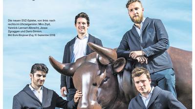 «Bully» – die Eishockey-Beilage der «Zuger Zeitung»