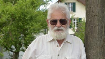 Urs Koller, Hauptinitiant der Initiative «Schutz der Arbeitersiedlung Thurfeldstrasse». (Bild: Mario Testa)