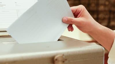 Eine Wahlurne im Frauenfelder Rathaus. (Bild: Donato Caspari)