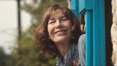 Jane Birkin in«La femme et le TGV» von Timo von Gunten. Bild: PD