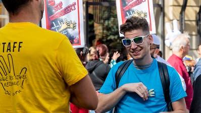 Gehörlose fordern Anerkennung für Schweizer Gebärdensprachen