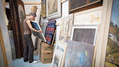 Kritik an Kunst im St.Galler Rathauskeller