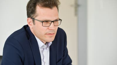 CVP-Stadtparlamentarier Dominik Diezi verkündete im Mai seine Kandidatur für das Stadtpräsidium. (Bild: Donato Caspari)