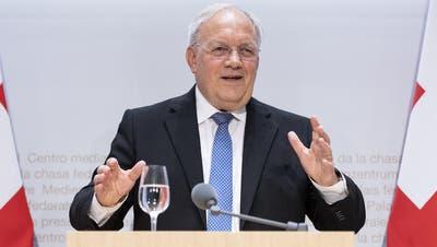 Das Dossier zum Rücktritt von Johann Schneider-Ammann