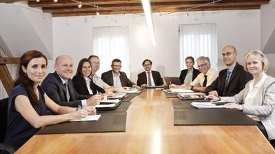 Vier der neun Stadträte treten nicht mehr zur Wiederwahl an. (Bild: PD)
