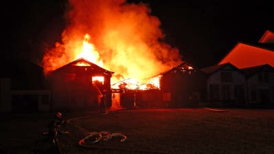 Der Brand konnte nach rund zwei Stunden unter Kontrolle gebracht werden. (Bild: Kapo TG)