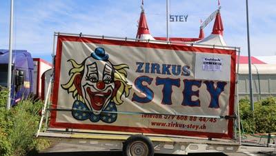 Das Logo der Zirkusfamilie Stey aus der Bonau. (Bild: PD)