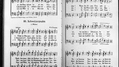 Ständerat will Schweizerpsalm im Gesetz verankern