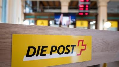 Konzerngewinn der Schweizerischen Post sinkt stark