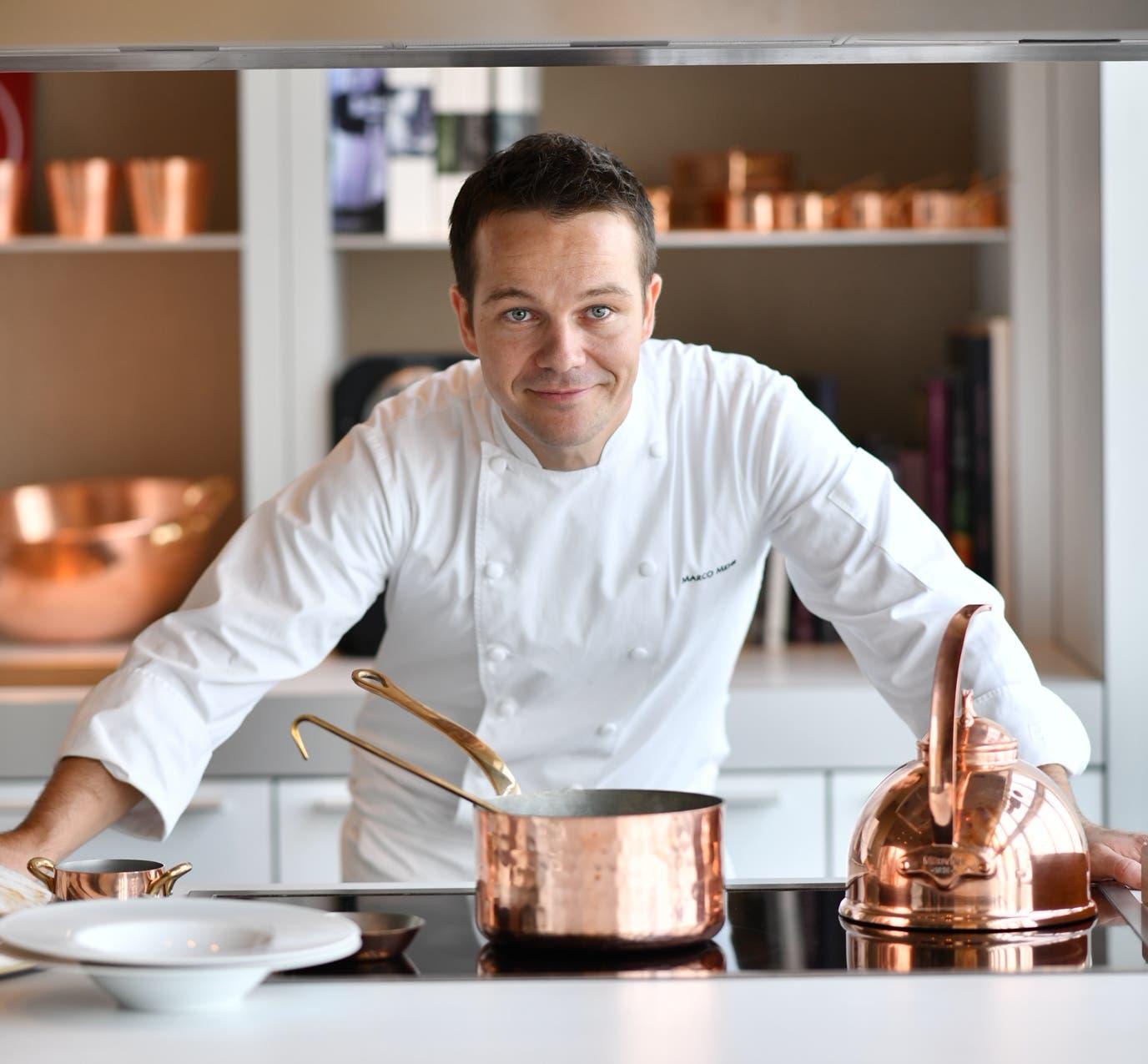 Neuer Executive Küchenchef im Luxushotel Park Hyatt in Schanghai, China: Marco Mehr (32) aus Obwalden. (Bild: PD)