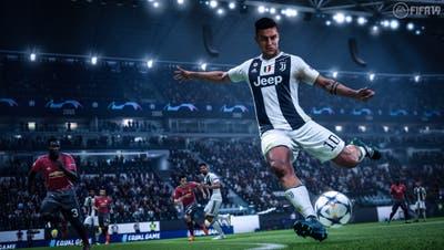 Juventus-Spieler Paulo Dybala in Fifa 19. (Bild: PD)
