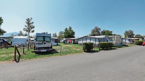 4500 Unterschriften sind bis jetzt für das Camping in Zug zusammen