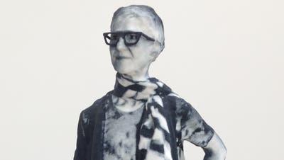 Karin Sanders «Mailed Painting» ist eingerahmt von Werken Piet Mondrians und Hugo van Doesburgs. (Bild: Christina Genova)