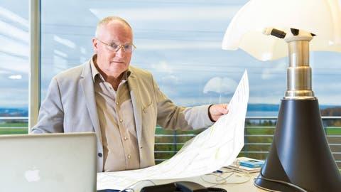 Karl-Heinz Restle ist Präsident des Lengwiler Unternehmens Renergon. (Bild: Donato Caspari)