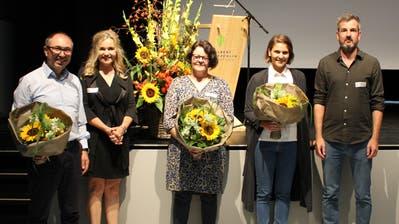 Vertreter der ausgezeichneten Projekte bei der Preisübergabe am vergangenen Donnerstag. (Bild: PD)