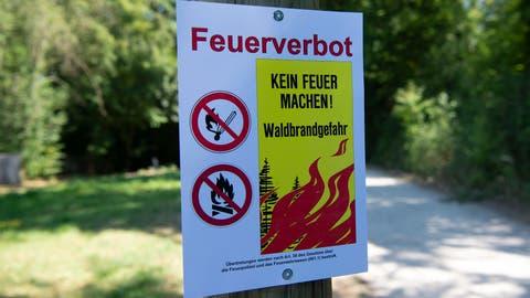 Kanton Uri: Feuerverbot im Wald und in Waldesnähe wird aufgehoben