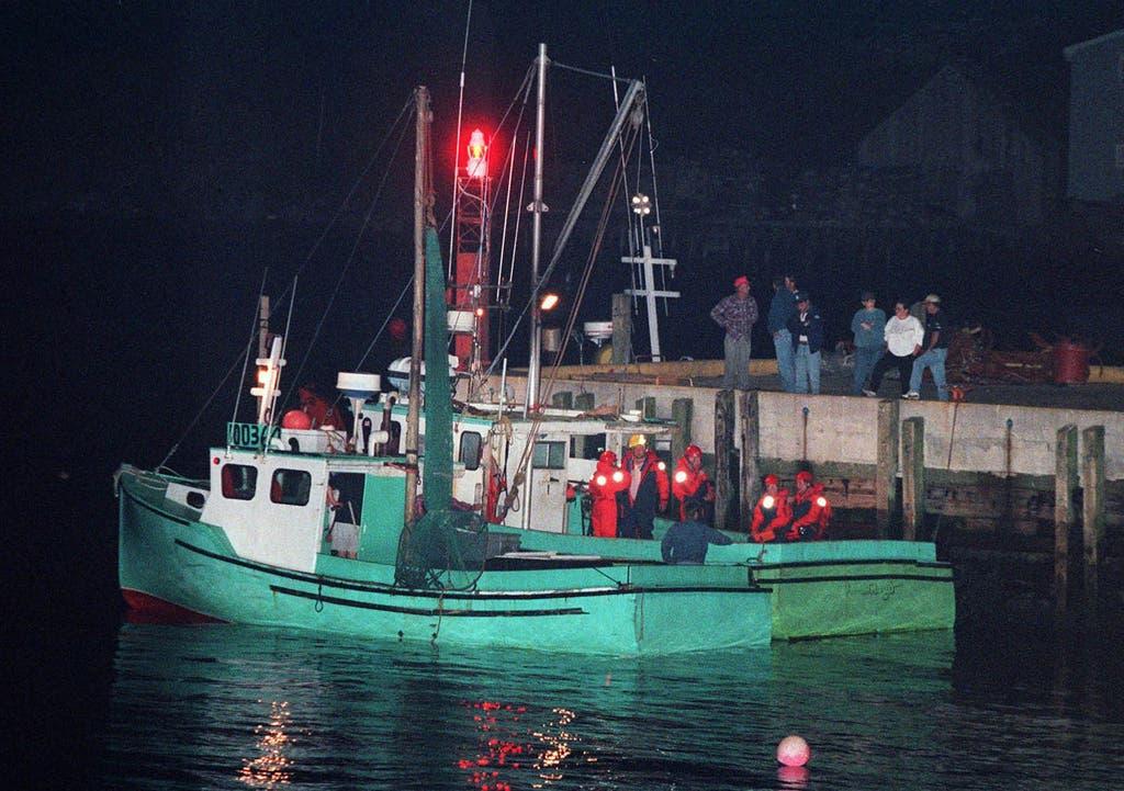 Kanadische Fischerboote waren die ersten an der Unglücksstelle. (Bild: Keystone)