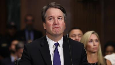Brett Kavanaugham vergangenen Donnerstag im US-Senat. (Bild: Win McNamee/EPA)
