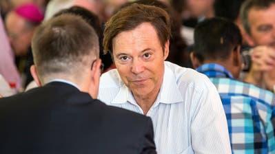Christoph Mörgeli bezeichnete die ehemalige Zuger Kantonsrätin Jolanda Spiess-Hegglin ein einem Tweet als «Falschbeschuldigerin». (KEYSTONE/Alexandra Wey)