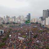 Proteste gegen brasilianischen Präsidentschaftskandidaten Bolsonaro