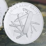 Die neue Sondermünze «Swiss Army Knife». (Bild: Swissmint/PD)