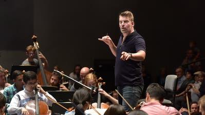 Matthias Pintscher, hier anlässlich der Vorführung «40min» am Lucerne Festival (Bild: Peter Fischli / Lucerne Festival)