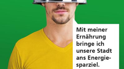 So sensibilisierte die Stadt bereits in der Vergangenheit für das ThemaErnährung. Dieses Plakatsujet war Teil einer Ende 2017 lancierten Kampagne. Bild: PD/Stadt Luzern