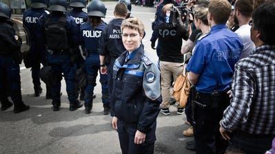 Irene Schönbächler muss ihr Amt als Direktorin krankheitsbedingt niederlegen.(Bild:Manuela Jans-Koch, 9. Mai 2015)
