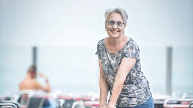 Isabella Szucherwirtetseit zehn Jahren als Geschäftsführerin der Seebad Gastro GmbH im Seebad-Restaurant in Romanshorn. (Bild: Reto Martin)