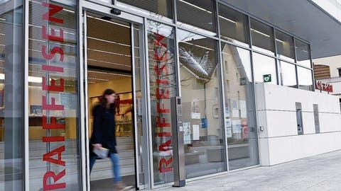 Raiffeisenbank: Schliessung der Filiale in Oberägeri ist definitiv