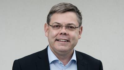 Franz Grüter (SVP) aus Eich wurde zum Nationalrat gewählt. Das Bild entstand am Montag, 19. Oktober 2015(Pius Amrein / Neue LZ)Politik, Portrait, Nationalrat, SVP, Partei, Wahlen