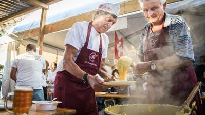 Am Udinesefest in Mattwil wurden wieder italienische Spezialitäten serviert. (Bild: Reto Martin)