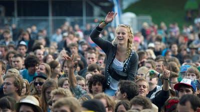 Tausende Musikfans freuen sich bereits wieder aufs Open Air St.Gallen. (Bild: Urs Bucher)