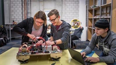 Eine Gossauer Schulklasse baut in sechs Wochen einen Roboter
