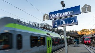 Wolhusen erhält auf den kommenden Fahrplanwechsel im öffentlichen Verkehr eine höhere Bedeutung. (Bild: RogerGrütter, 13. Dezember 2015)