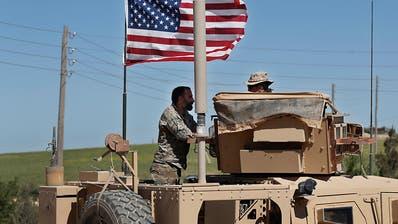 USA beginnen Truppenabzug aus Syrien
