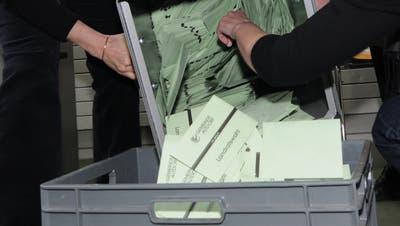 Das Berechnen der Wahlresultate wird im Februar wieder Thema im UrnerLandrat. (Bild: Urs Flüeler/Keystone (Altdorf, 28. Februar 2016)